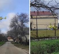 Mentőhelikopter érkezett Esztergom-Kertvárosba