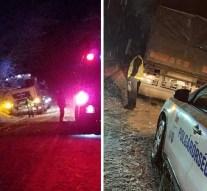 Több baleset is történt a havas utakon kedden