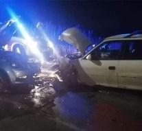 Frontális balesethez siettek a bajnai tűzoltók