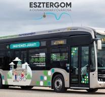 Hamarosan Esztergomban is kipróbálhatjuk az elektromos autóbuszt