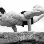 Eka pada koundinyasa yoga pose by Doron