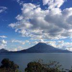 Sunny day at Lake Atitlan near Doron Yoga & Zen Center yoga retreat in Guatemala