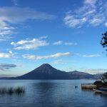 Lake Atitlan view near Doron Yoga & Zen Center yoga retreat in Guatemala
