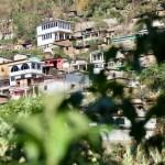 Houses in Tzununa - view from the garden