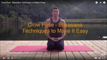 crow pose - Bakasana