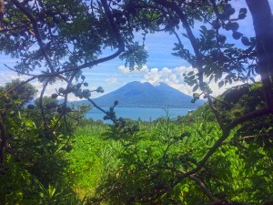 View of Lake Atitlan from the Doron Yoga Retreat Center