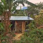 Final works on another building which will provide comofrtable accommodation in DYZC yoga reatreat in Guatemala