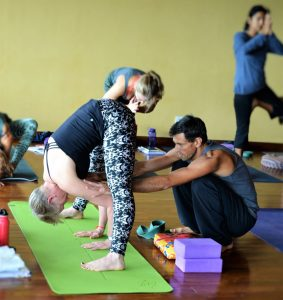 Doron Yoga Nepal 200 TTC Teaching Assist Prasarita A