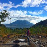 Construction of yoga retreat space at lake Atitlan Guatemala
