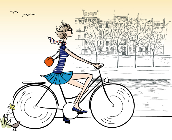 Paris à bicyclette