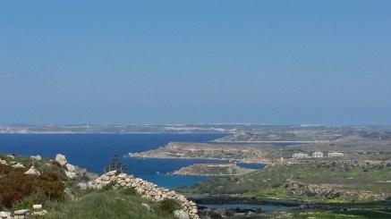 View on Gozo from Kuncizzjoni, Malta