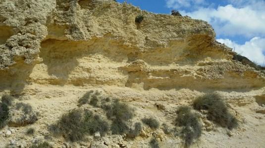 Another Detail Il-Qleigha Rock, Bahrija, Malta
