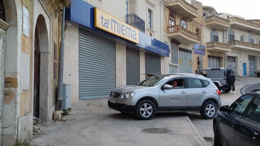 The Supermarket Close to the Ferry Terminal on Gozo, Malta