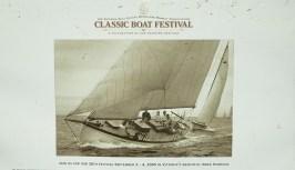 Victoria Classic boat fest poster2