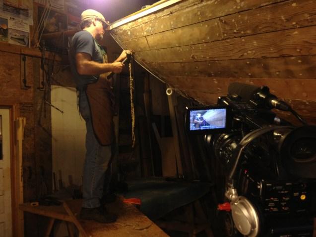 Tobi Elliott filming Tony Grove reefing Dorothy's seams2