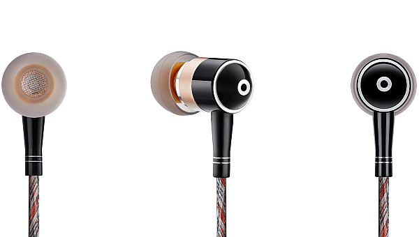 Zero : DAC high powered amp earphones for OnePlus One - Gold