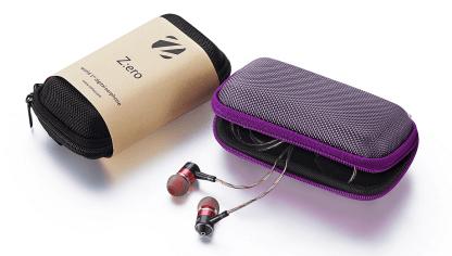 Zero : DAC high powered amp earphones for Google Nexus 5, HTC One M7, M8 - Red