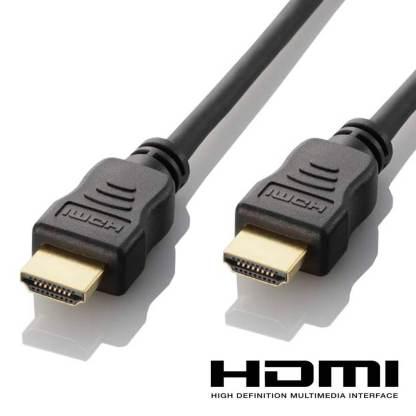 Toshiba SATELLITE RADIUS, QOSMIO Laptop HDMI to HDMI 4K Ultra HD TV 2m Gold Lead Wire Cord Cable