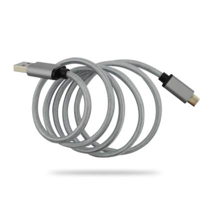 Huawei P10 Plus, P9 USB-C(Type-C) to USB 3.1 Charger/Data Quartz Grey (Gray) Wire Lead Cable