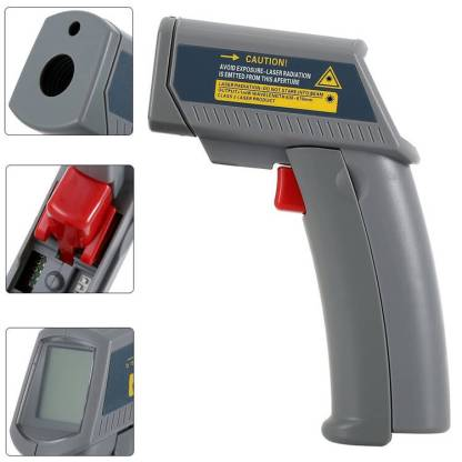 MS6530 Non - Contact Infra-red IR Thermometer with Laser Targeting & Digital Display Gun