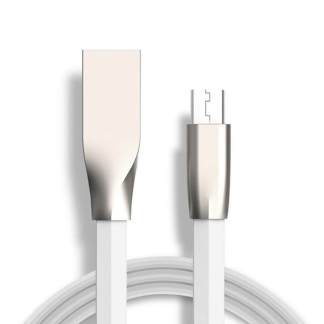 Microsoft Lumia 650, 640 XL, 535, 435 Micro-USB-B Charger & Data Sync Laptop PC Lead Wire Cord Cable - White