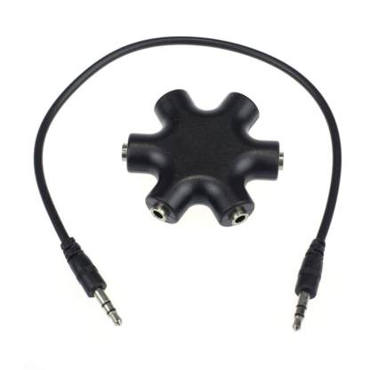Nvidia Shield Android TV Gamepad/Controller Headphone Earphone 3.5mm Audio Jack Splitter
