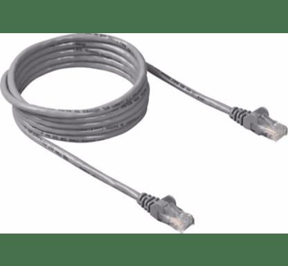 Pro CAT5e RJ45 2m Ethernet Network LAN Router Laptop PC Computer TV NAS Patch Cord Wire Cable Lead