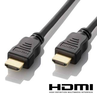 Roku 2 & 3 HDMI to HDMI TV 5m Long with Fuse Gold Lead Wire Cord Cable