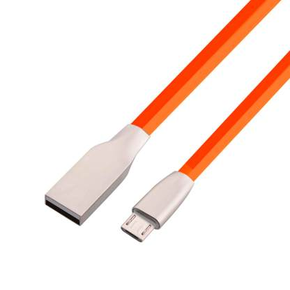 Tesco Hudl 2 micro USB Charger & Data Lead Wire Cable - Red