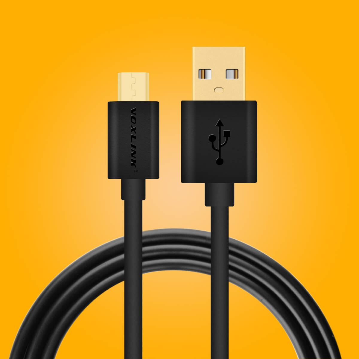 Voxlink Micro USB Charger/Data Lead Wire Cable for Amazon Fire 7 ...