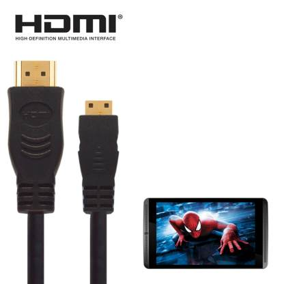 nVIDIA Shield Android Tablet HDMI Mini to HDMI TV 5m Long Black Wire Cord Lead Cable