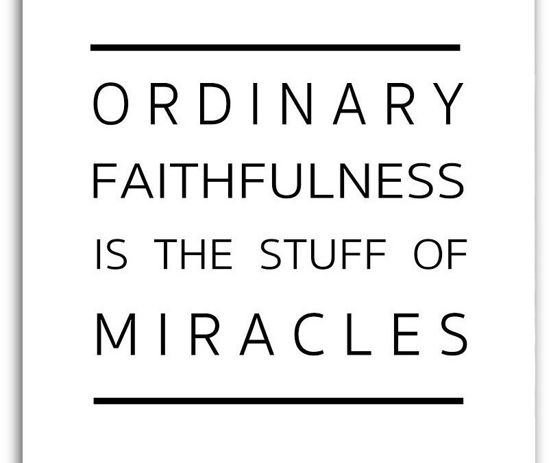 Ordinary Faithfulness