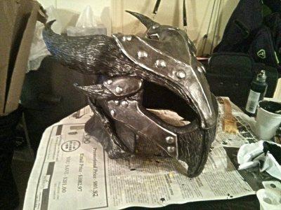 Daedric Armor WIP - helmet