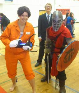 chell cosplay