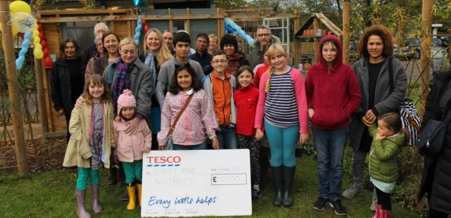 New 'Secret Garden' for Beckenham community thanks to Tesco grant
