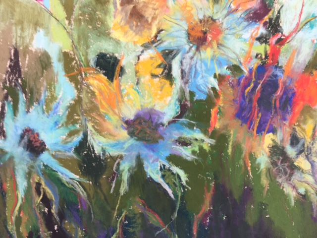 BARBARA ROWLES EXHIBITS AT THE LIBRARY IN JUNE