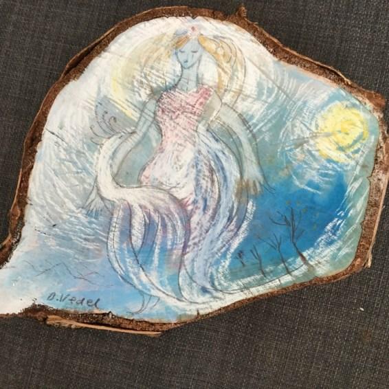 Figur i trae Dorthe Vedel