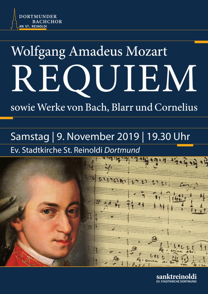 Plakat Mozart Requiem