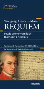 Flyer Mozart Requiem Seite 1
