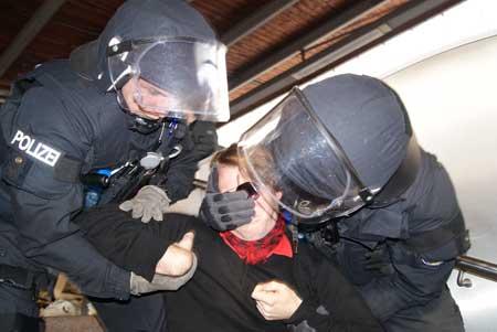 Polizeibrutalität