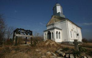 Un botez neobișnuit la mânăstire