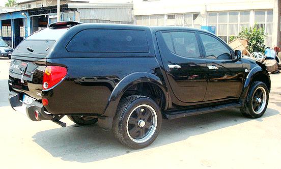 Mitsubishi L200 Hardtop L200 Canopy L200 Laderaumabdeckung