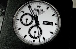 LG G3 Rolex watch face for quick circle case