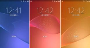 Xperia Z2 Lock Screen