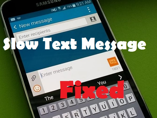 galaxy s5 text message