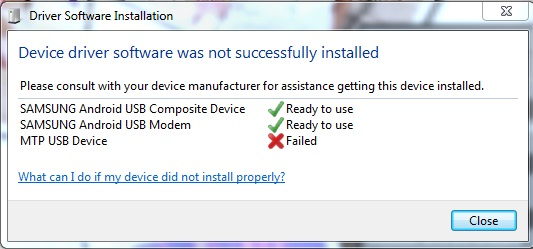 How To Fix Code 10 Error (Device Can Not Start) In Device Manager - Samsung Mobile MTP Device