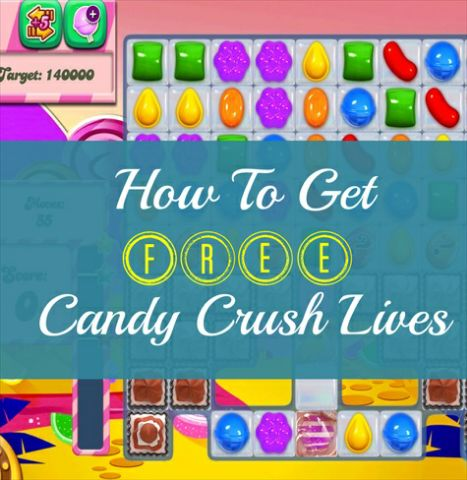 get free candy crush saga lives