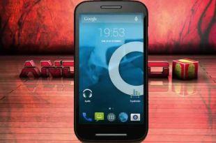 CyanogenMod 12.1 for Moto E