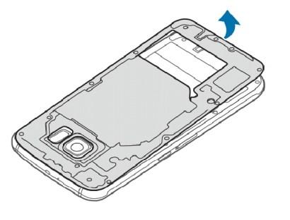 Remove circuit board on Galaxy S6