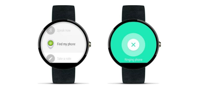 find android phone using android smartwatch